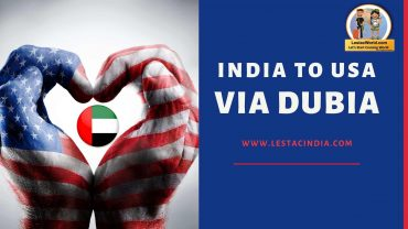 India to USA via Dubai